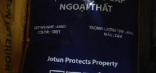 Báo giá bột trét Jotun Exterior Putty