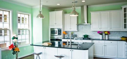 Sơn phòng bếp đẹp, hợp phong thủy và đảm bảo chất lượng