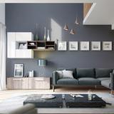 Cách phối màu sơn cho phòng khách hiện đại