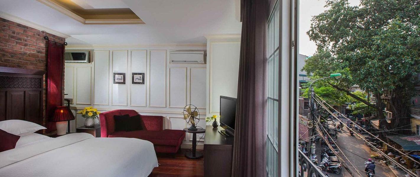 Cải tạo sửa chữa phòng ngủ nhà phố phong cách tân cổ điển tại Hà Nội